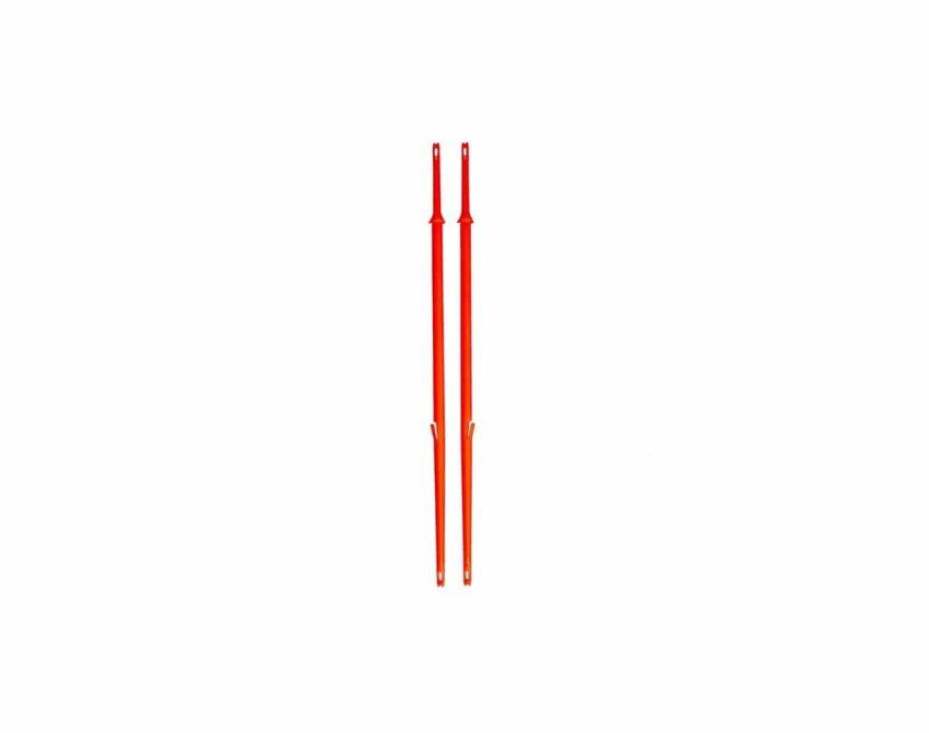 Orange Stickers til CLICK - 2pk | Arctic-Fritid.no