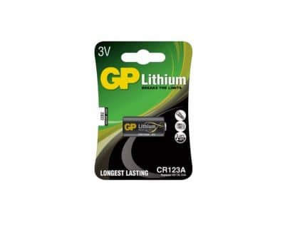 GP Lithium CR123A 3V Batteri | Arctic-Fritid.no
