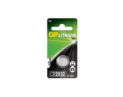 GP Lithium CR2032 3V Knappcell Batteri | Arctic-Fritid.no
