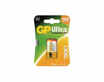 GP Ultra Alkaline 6LF22 9V Batteri | Arctic-Fritid.no