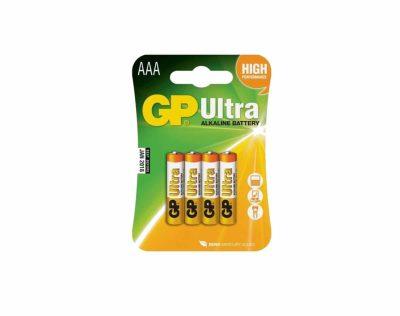 GP Ultra Alkaline AAA LR03 1,5V Batteri | Arctic-Fritid.no