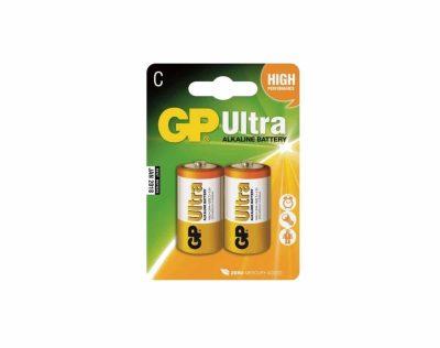 GP Ultra Alkaline C LR14 1,5V Batteri | Arctic-Fritid.no