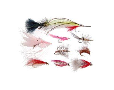 Kystfluer 10 stk ass. Enkelkrok | Arctic-Fritid.no