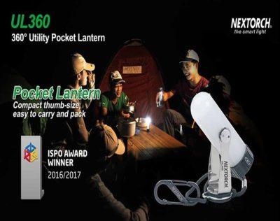 Nextorch UL360 Multilykt (70 lumen) | Arctic-Fritid.no