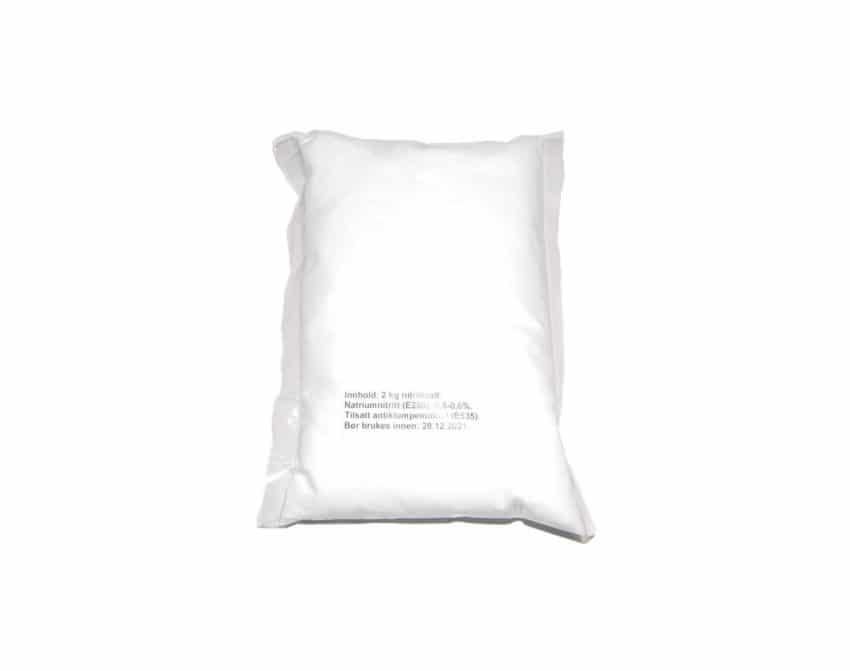 Nitrittsalt 0,6% - 2kg | Arctic-Fritid.no