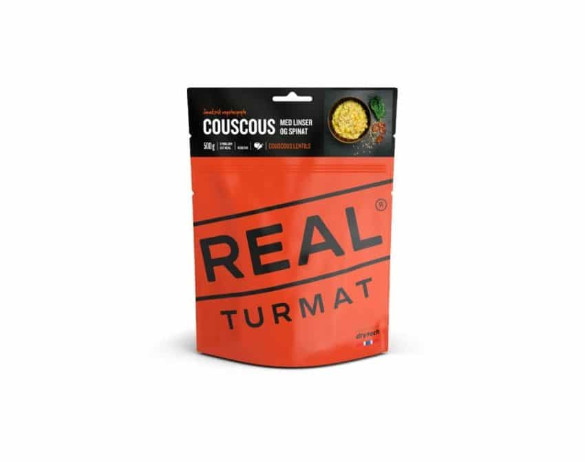 REAL Turmat Couscous med linser og spinat | Arctic-Fritid.no