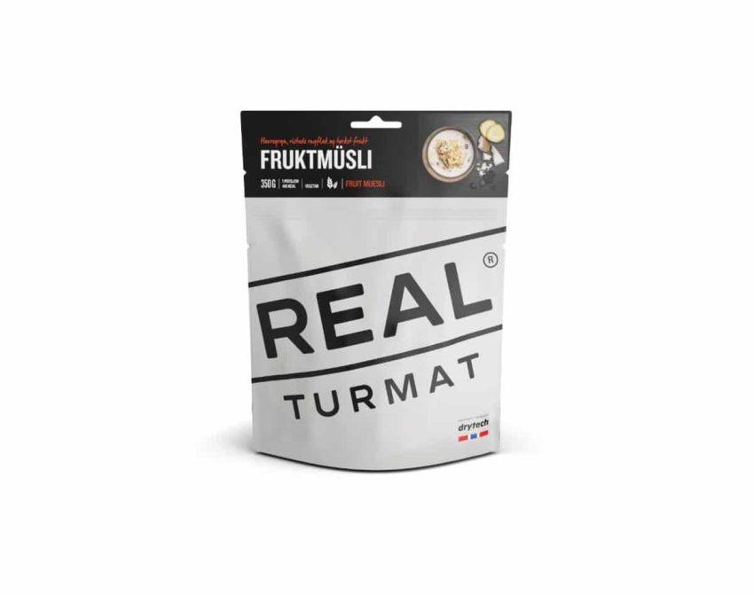 REAL Turmat Fruktmüsli | Arctic-Fritid.no