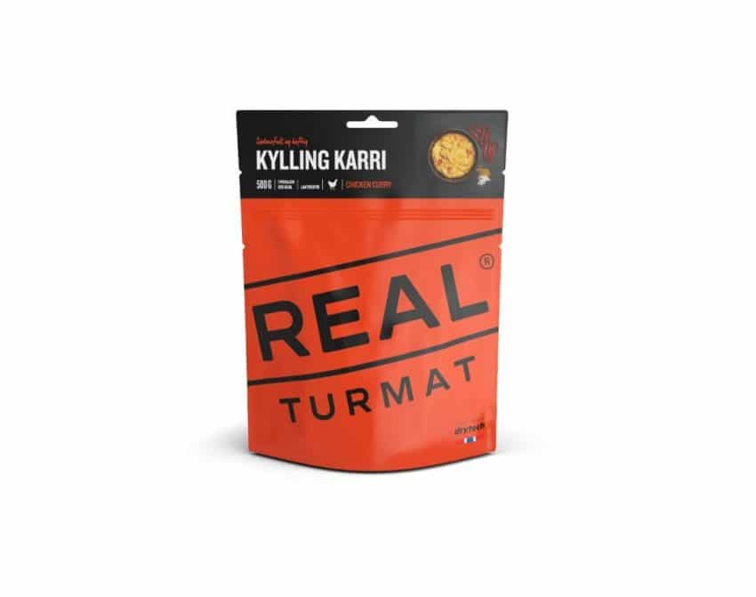 REAL Turmat Kylling karri | Arctic-Fritid.no
