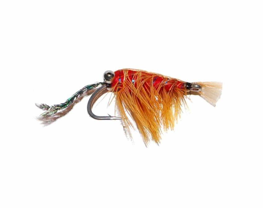 Red/Orange Shrimp Saltvannskrok | Arctic-Fritid.no