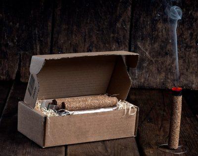 Smokepin SvartOR (Cigarrøykeren) - 12pk | Arctic-Fritid.no