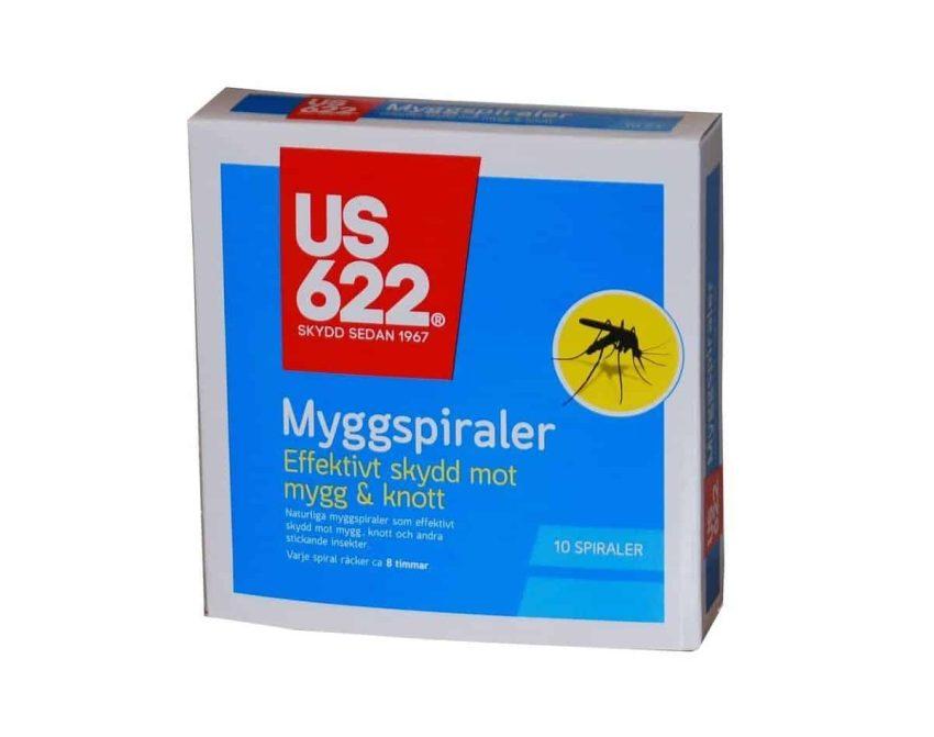US622 Myggspiral 10pk   Arctic-Fritid.no