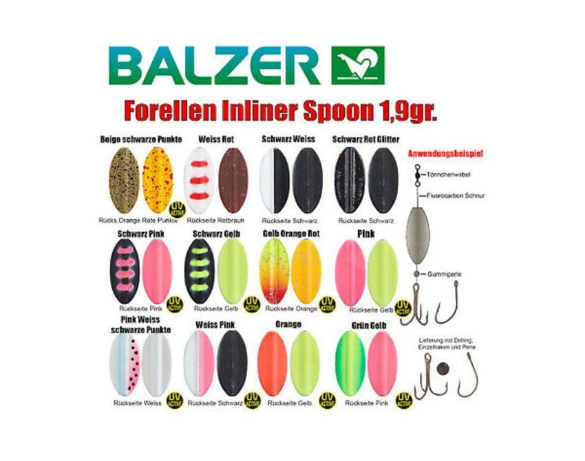 Balzer Micro Inliner (Degnen) - 1,9gr | Arctic-Fritid.no