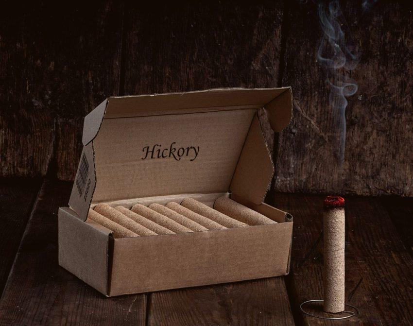 Smokepins av Hickory - 12pk | Arctic-Fritid.no