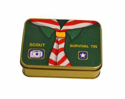 BCB Speiderens Survival Tin | Arctic-Fritid.no